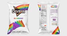 Doritos Rainbow, o salgadinho anti preconceito! - Sapatômica