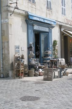 St Martin, Ile De Re my fave shop on the re