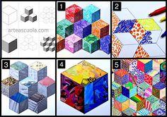 5 idee cubi
