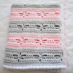 Ravelry: zavvy's Dragonfly Baby Blanket