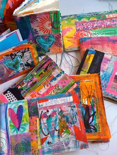 art journals by Traci Bautista by treiCdesigns, via Flickr