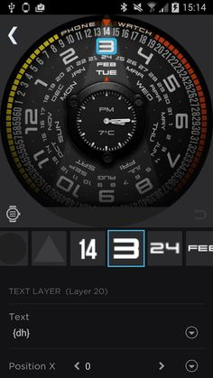 Best Android Wear Watch Faces For 2015 Android Wear, Android Apps, Android Watch Faces, Sport Watches, Watches For Men, Sony Smartwatch 3, Weather Data, Huawei Watch, Wear Watch