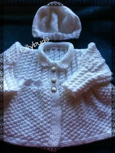 Ravelry: VICTORIA BABY COAT pattern by Lillybuds Baby Knits