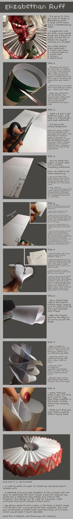 Elizabethan Ruff Tutorial by *Bllacksheep