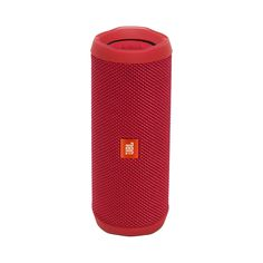 JBL Flip 4 Waterproof Portable Bluetooth Speaker (Red) Wirelessly connect up to 2 smartphones or tablets to the speaker and take turns playing impressive stereo soundBuilt-in rechargeable li-ion battery Supports up to 12 hours of wate Audio Hifi, Wireless Stereo Speakers, Room Speakers, Bluetooth Gadgets, Jbl Flip 4, Smartphone, Waterproof Speaker, Flip Phones, Pulsar