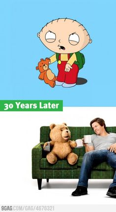 More like 40 years later...but yeah.