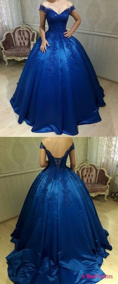 quinceanera dresses,New Arrival Prom Dress,Modest Prom Dress,royal blue quinceanera dress,ball gowns wedding dress PD20188201
