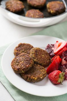 """So here's a vegetarian """"sausage"""" patty full of hearty and toothsome lentils, plus all the flavor we associate with breakfast sausage like sage, black pepper, and fennel. Veggie Sausage, Sausage Recipes, Vegan Sausage Recipe, Spicy Sausage, Sausage Breakfast, Breakfast Recipes, Fodmap Breakfast, Vegetarian Breakfast Sausage Recipe, Breakfast Toast"""