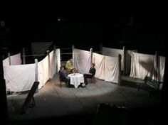Set. Screens, could be moveable. Made from sheets. Largs as possible