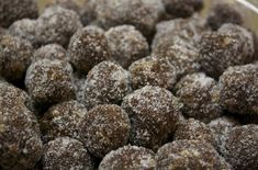 Kentucky Bourbon Balls (I have made these using rum instead and they are yummy!)