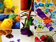 Dandelion Paint Brushes
