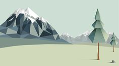 Low Poly Backgrounds on Behance