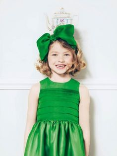 green girls outfit. cute.    Please 'Like', 'Repin' and 'Share'! Thanks :)
