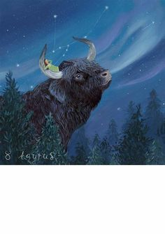Taurus Limited to 195 fine art limited edition prints and 20 artist proofs; Each print is individually signed and numbered by Jenni and supplied with a certificate of authenticity.
