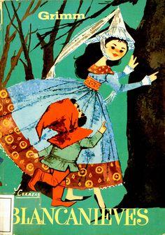 Blancanieves (Personaje de ficción). Blancanieves / Grimm; ilustraciones de Correas (1959)