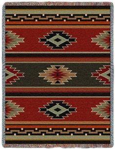 Hualapai Native American Design Tapestry Throw PC-5379-T by Pure Country Weavers, http://www.amazon.com/dp/B002GF3432/ref=cm_sw_r_pi_dp_m5bKqb0XVJ5MZ