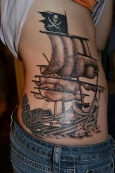 <3 have wanted a pirate ship tattoo for as long as i can remember
