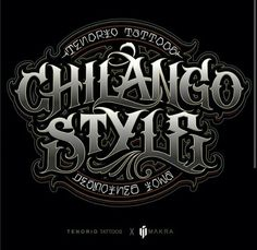 Chicano Lettering, Tattoo Lettering Fonts, Font Art, Lettering Styles, Typography Letters, Lettering Design, Logo Design, Script Tattoos, Catrina Tattoo