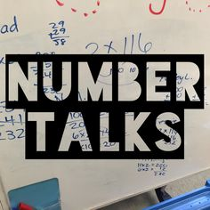 Number Talks videos - Third Grade Math www.fairwindsteaching.com