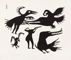 """Kikgavik and the Hunter"" Kiakshuk (1960)"