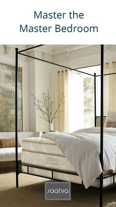 Master the Master Bedroom With Saatva: Nationwide In Home Delivery & Installation. 120-Day Trial.
