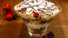 Sobremesa gelada criada pela chef do La Vie en Douce