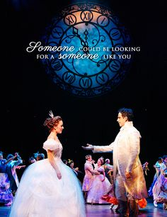 Laura Osnes and Santino Fontana in Cinderalla