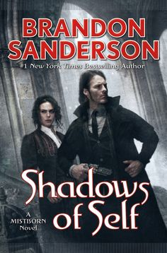 My review today is for Shadows of Self by Brandon Sanderson. A copy of this book was provided to me in exchange for an honest review. My opinions are my own. I read The Alloy of Law and was instant...