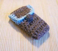 Latmannsetui for iPhone - free crochet pattern - Pickles