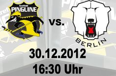 Look! A two for one! Is the logo for the DELs Krefeld Pinguine AND Eisbaren Berlin! What a treat! Especially that Penguin, err, Pinguine...