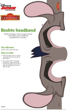 http://disneyjunior.disney.co.uk/the-lion-guard/makes/beshte-headband