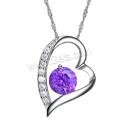 Austria Crystal Pendant and 925 Sterling Silver
