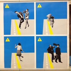 東京メトロの広告。