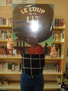 Bookface avec l'album de Rebecca Dautremer, le loup de la 135e