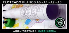 Ploteado de Planos y Mapas CAD GIS Villanueva de la Cañada - The Green Copy Madrid - Impresión Gran Formato