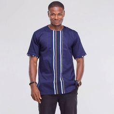 Dashiki Shirt African Shirt African Print Dashiki by AfricaBlooms African Attire, African Wear, African Dress, African Shirts For Men, African Clothing For Men, African Inspired Fashion, African Print Fashion, Dashiki Shirt, African Design