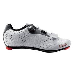 Fizik R5B Uomo Road Bike shoes Gentlemen grey/white Size 46 2016 Racing bike shoes