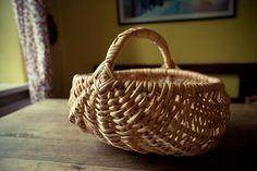spruce root frame basket