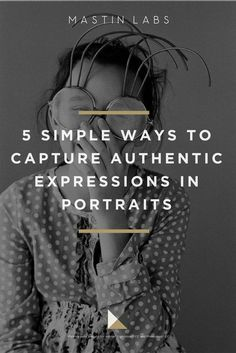 Having a portrait taken can be a pretty nerve-wracking experience! Get an authentic expression from your portrait clients with these tips. #Photography #Portraiture