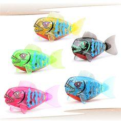 새로운 브랜드 아기 물고기 장난감 Childen 아이 로봇 애완 동물 활성화 배터리 전원 로보 물고기 장난감 높은 품질