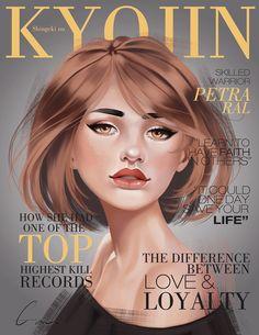 SnK Magazine: Petra by putemphasis.deviantart.com on @DeviantArt
