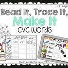Please download the preview for a closer look.  This activity can be used as a reading center or word work center to help students read, write and ...