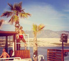 Zrce summer #zrce #novalja #pag #party #croatia #kroatien #beach #adria #beautiful #beach http://zrce.eu