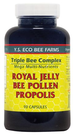 Pollen, Royal Jelly & Propolis Supplements