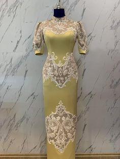 Drape Gowns, Short Gowns, Edwardian Dress, Brokat, Batik Dress, African Wear, Kebaya, African Fabric, Asian Fashion