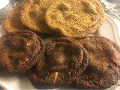 Glöm köpekakor för nu tänker jag ge er recept på dom omtalade Subway kakorna. Dessa två jag gjorde vart supergoda. Gjorde dom i choklad lite...