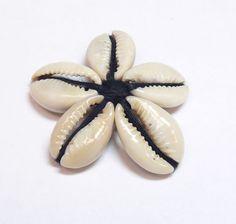 42 Pendant Shell 5 Petal Flower  Beads Bead Beading