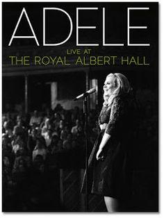 Post sobre o excelente show da cantora Adele no Royal Albert Hall em Londres registrado em CD e DVD.