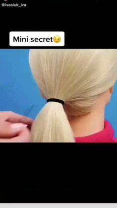 Easy Hairstyles For Long Hair, Pretty Hairstyles, Funny Hairstyles, Josie Loves, Curly Hair Styles, Natural Hair Styles, Aesthetic Hair, Hair Videos, Hair Day