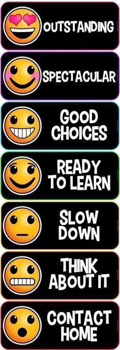Emoji Clip Chart Bla
